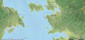 Maa-ameti reljeefi kaardil näha erinevaid pinnavorme.