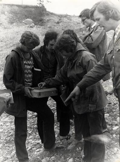 Volli Kalm ja üliõpilased 1976